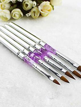voordelige Nagelborstels-Metaal Nagelborstels Voor Vingernagel Noviteit Nagel kunst Manicure pedicure Klassiek / leuke Style Dagelijks