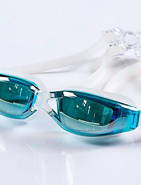 povoljno Sport és outdoor-Goggles Πισίνα Vodootporno Anti-Magla Podesiva veličina Anti-UV Na recept Mirror silika gel PC Narančasta Sive boje Crn Sive boje