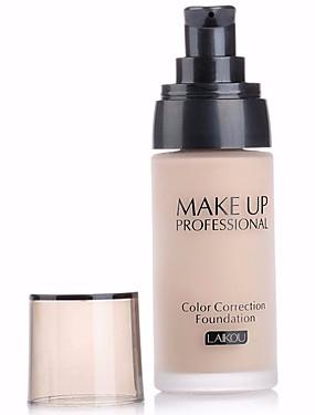 billige Ansiktsmakeup-3 farger Concealer Foundation 1 pcs Vanntett / Bleking / Olje-kontroll Krop / Ansikt Vanntett Sminke kosmetisk