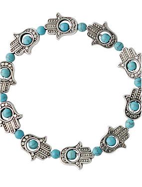 voordelige De Bruiloftswinkel-Dames Kralenarmband Modieus Legering Armband sieraden Groen Voor Bruiloft