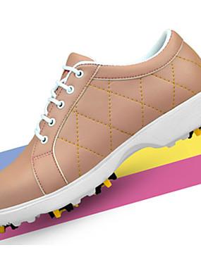 ieftine Sporturi cu Rachetă-Pentru femei Pantofi de Golf EVA Respirabil Golf Purtabil Microfibră PU sintetică Galben Roz