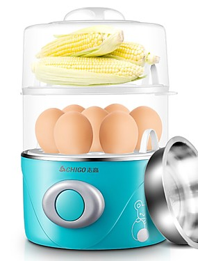 cheap Egg Cooker-Plastic / Stainless / Metal 220 V 350 W Detachable / Health Care / Washable Kitchen Appliance