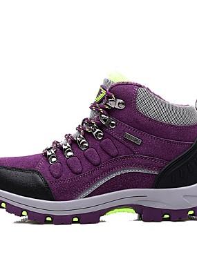 abordables Deportes y Ocio-LEIBINDI Mujer Zapatillas deSenderismo Zapatos Casuales Zapatos de Montañismo Calzado para Mountain Bike A prueba de resbalones Listo para vestir Reduce la Irritación Eslático Senderismo Escalada