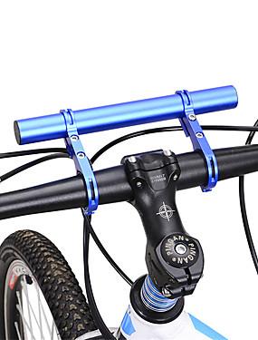 abordables Sports & Loisirs-30 mm Extension de Guidon de Vélo Ajustable Vol rotatif de 360 degrés Antidérapage pour Vélo de Route Vélo tout terrain / VTT Aluminum Alloy Chrome Bleu Noir Rouge
