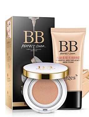 abordables Maquillaje Facial-Crema BB Face Primer Húmedo Larga Duración Lady / Diario / Rostro Sin Alcohol Maquillaje Cosmético