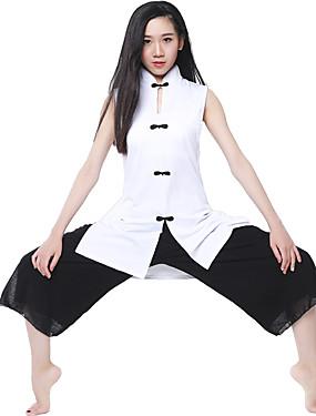 povoljno Sport és outdoor-CONNY Žene Wide Leg Yoga hlače s vrhom Sportski Sportska odijela Yoga Pilates Sposobnost Bez rukávů Odjeća za rekreaciju Prozračnosti Rastezljiva