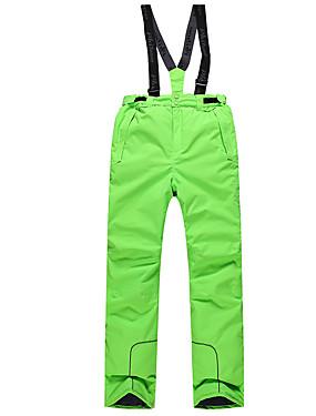 povoljno Sport és outdoor-Dječaci Skijaške hlače Vjetronepropusnost Toplo Brzo kemijska Skijanje Snowboarding Zimski sportovi Poliester Hlače Snježni prsluk Skijaška odjeća / Zima / Vodootporni patent