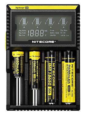 povoljno Sport és outdoor-Nitecore D4 Punjač za baterije za Li-ion Ni-Cd Ni-MH Zaštićeni strujni krug Zaštita od kratkog spoja Zaštita od prepunjavanja SAD United Kingdom EU Plug Options 10440,14500,16340 (RCR123