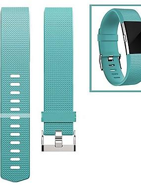 رخيصةأون عصابات Smartwatch-حزام إلى Fitbit Charge 2 فيتبيت بكلة عصرية فلورولاستومر شريط المعصم
