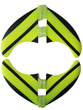 billige Sport og friluftsliv-Srfda Surfefinner G5 FCS II Base Glass Fiber 2 * Venstre finner 2 * Høyre finner Til SUP surfebrett Longboards Shortboards 4 pcs