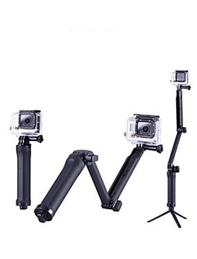 povoljno Sport és outdoor-Telescopic Pole Složiv 1 pcs Za Akcija kamere Sve Xiaomi Camera Kampiranje / planinarenje / Speleologija Natrag Zemlja All-mountain PVC