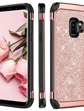 povoljno Bentoben-BENTOBEN Θήκη Za Samsung Galaxy S9 Plus / S9 Otporno na trešnju / Pozlata / Šljokice Stražnja maska Šljokice Tvrdo TPU / PC za S9 / S9 Plus / S8
