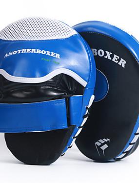 povoljno Sport és outdoor-Boksačke rukavice Za Muay Thai boks Boks trening Kickboks Izdržljivost Hvat za palac Podesivi remen za rukavice Prozračnost Otpornost na udarce Sprječavanje ozljeda PU koža 2 pcs Odrasli - Plava Red