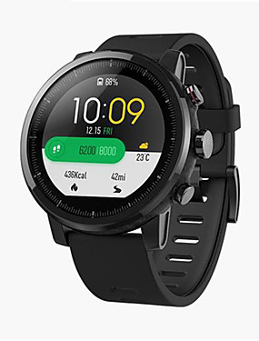 billige Smart elektronikk-huami amazfit 2 stratos tempo 2 smart watch menn gps xiaomi klokker ppg pulsmåler 5atm vanntett global versjon
