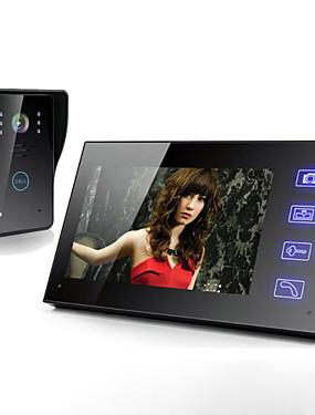 voordelige 40% OFF-Draadloze 7 inch lcd touchscreen telefoon intercom video deur deurbel home security camera monitor