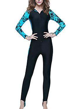 povoljno Sport és outdoor-SBART Žene Ronilačko odijelo kože Ronilačka odijela SPF 50 UV zaštitu od sunca Prozračnost Dugih rukava Prednji Zipper - Plivanje Ronjenje Surfanje / Quick dry / Quick dry
