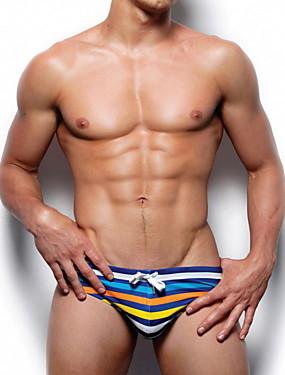 531210a35dcab Men s EU   US Size Blue Cheeky Bottoms Swimwear - Striped L XL XXL Blue