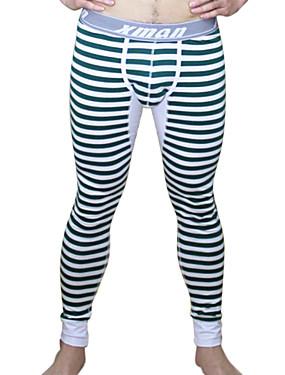 voordelige Weekly Deals-Gestreept - Super Sexy Lang ondergoed Heren 1 Stuk