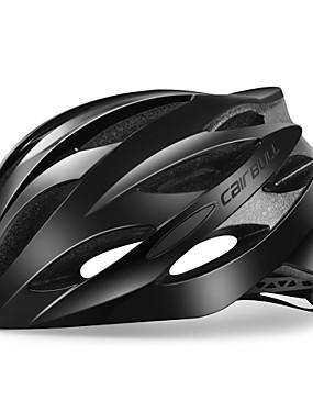 رخيصةأون رياضة والخارجية-CAIRBULL للبالغين خوذة دراجة 25 المخارج CE Impact Resistant  مصبوبة بشكل تكاملي قياس قابل للتعديل EPS الكمبيوتر الشخصي رياضات دراجة الطريق دراجة جبلية أخضر / الدراجة - / تهوية