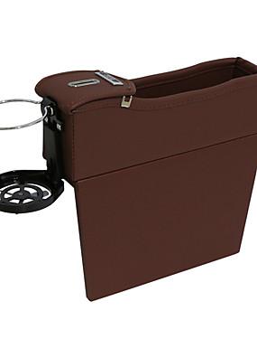 povoljno Weekly Deals4-1 par auto pu leathe auto sjedalo jaz torba za pohranu mjesta praznina punila prostor za pohranu torba