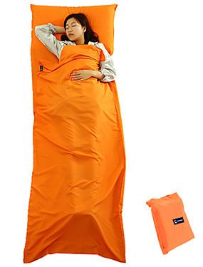 povoljno Sport és outdoor-Vreća za spavanje Liner Vanjski Pravokutna vreća 20-25 °C Za jednu osobu Polyester Vodootporno Ugrijati Prašinu 210*75 cm Proljeće Jesen za Ribolov Pješačenje Kampiranje Putovanje Outdoor Unutrašnji