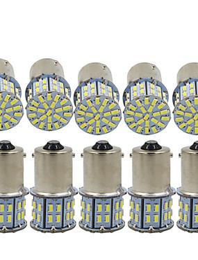 abordables Luces de marcha atrás-10pcs 1156 Coche Bombillas 3 W SMD 3014 600 lm 50 LED Luz de Intermitente / Luces de freno / Luces de marcha atrás (respaldo) Para Universal Todos los Años