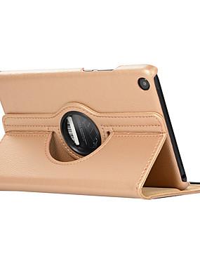 billige Bentoben-Etui Til Xiaomi Xiaomi Tab 4 360° rotasjon / Støtsikker / med stativ Heldekkende etui Ensfarget Hard PU Leather