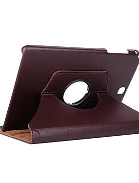billige Bentoben-Etui Til Samsung Galaxy Tab A 9.7 360° rotasjon / Støtsikker / med stativ Heldekkende etui Ensfarget Hard PU Leather