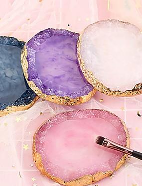voordelige Ander Gereedschap-hars agaat nagel kleurenpalet palet houder tekening nail art kleurenpalet voor nagelkleur meng display nail art tools