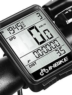 billige Sport og friluftsliv-INBIKE IC321 Sykkelcomputer Vanntett Stopur Trådløs Vei Sykkel Fjellsykkel Sykkel med fast gir Sykling