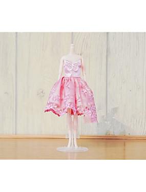 povoljno Igračke i hobiji-Haljina za lutke Za Barbie Cvjetni / Botanički Poliester Haljina Za Djevojka je Doll igračkama