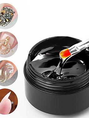 voordelige Ander Gereedschap-15ml nail art lijm gel voor strass decoraties sterke lijm tips lijm folie sieraden geen af te vegen gel top coat accessoires