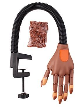 voordelige Ander Gereedschap-nail art oefening prothetische hand buigbare activiteit model nep hand met beugel sturen joint hand nagellak sjablonen