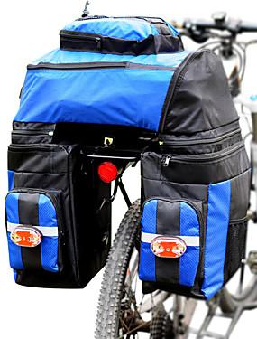povoljno Sport és outdoor-FJQXZ 70 L Panniers & Rack Trunk 3 u 1 Prilagodljivo Velika zapremnina Torba za bicikl 1680D poliester Torba za bicikl Torbe za biciklizam Biciklizam / Bicikl / Vodootporno