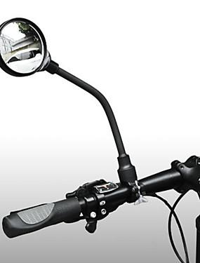 billige Sport og friluftsliv-Bakspeil Speil til sykkelstyre Justerbare Bærbar Støtsikker Roterbare Universell Til Vei Sykkel Fjellsykkel Sykkel med fast gir Sykling Aluminium PVC Svart
