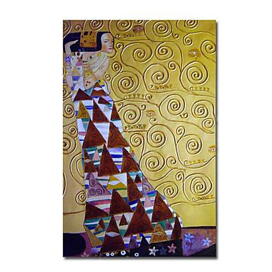 Hang-Boyalı Yağlıboya Resim El-Boyalı - Ünlü Çağdaş Tuval