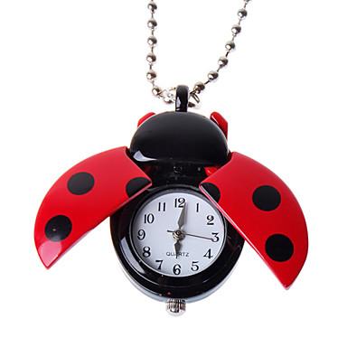 colar relógio encantador (besouro)
