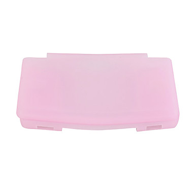 Protective Silicone Case for Nintedo DS Lite (Transparent Pink)