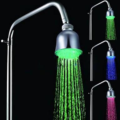 Moderne Regnbruser Krom Funktion-Regnfald LED , Brusehoved
