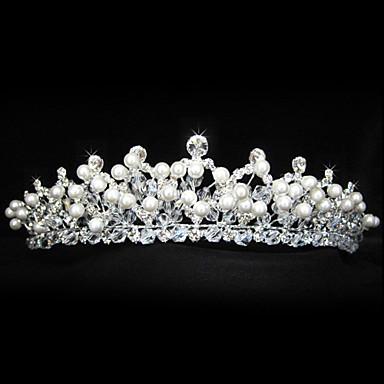 nydelig legering bryllup tiara / headpiece