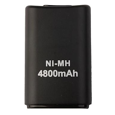رخيصةأون اكسسوارات اكس بوكس 360-USB البطاريات من أجل إكس بوكس 360 ، قابلة لإعادة الشحن البطاريات ABS 1 pcs وحدة