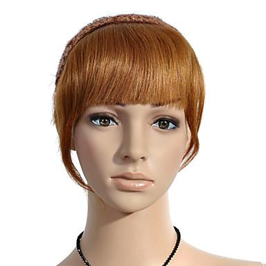 100% cheveux humains Bang plus épais