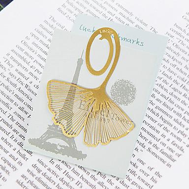 Düğün Yıldönümü Çeyiz Görme Bakır Kitap Ayraçları ve Mektup Açacakları Bahçe Teması - 5