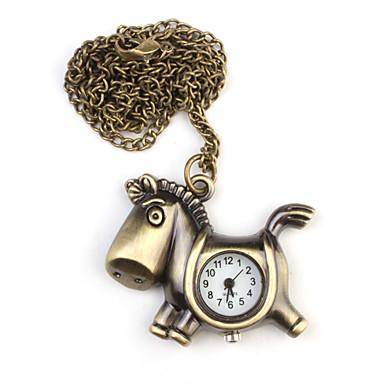 Pánské Kapesní hodinky Křemenný Kapela Zlatá