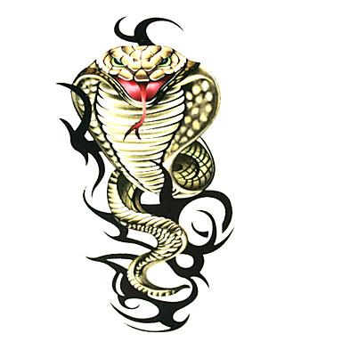 Tetovací nálepky Zvířecí řada Vzor Waterproof Dámské Girl Dospívající Flash Tattoo dočasné tetování