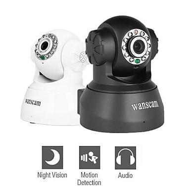 wanscam - kabelansluten IP-nätverk kamera med vinkel kontroll (rörelsedetektor, mörkerseende, gratis DDNS)