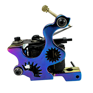 Professional Tattoo Kit 3 cast iron machine liner & shader 3 Tattoo Machine Inks Not Included