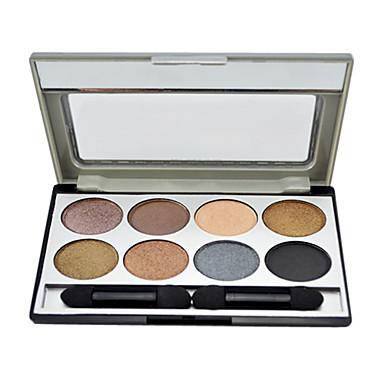 8 couleurs de la palette ombre à paupières avec une brosse libre (2 #)