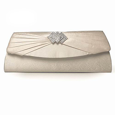 Silk With Crystal/ Rhinestone Party Handbags/ Clutches More Colors Available