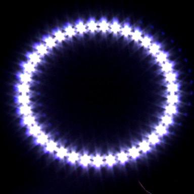 coche faro / luz decorativa (la luz del ojo ángel, de 39 LED, 12 cm, blanco)